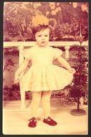Child Girl Portrait Old Photo 9x14 Cm #30933 - Anonyme Personen