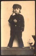 Child Boy Portrait Old Photo 9x14 Cm #30924 - Anonyme Personen