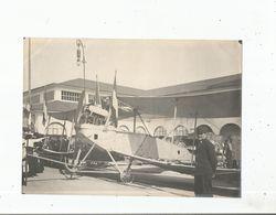 LYON (RHONE) PHOTO AVION TAUBE  PRIS AUX BOCHES 1914 - Krieg, Militär