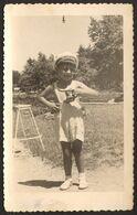 Child Boy Portrait Old Photo 9x14 Cm #30925 - Anonyme Personen