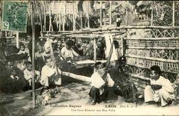 LAOS - Une Cour D'Amour Au Hua Pahn - L 67244 - Laos