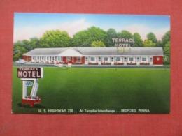 Terrace Motel    Beford Pennsylvania   Ref 4293 - United States