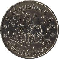 2011 MDP197 - BOULOGNE-SUR-MER - Nausicaa 7 (20 Ans ça Se Fête) / MONNAIE DE PARIS - Monnaie De Paris