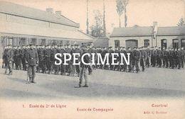 1 Ecole Du 2e De Ligne - Courtrai - Kortrijk - Kortrijk