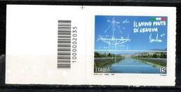 Italia 2020 - Nuovo Ponte Di Genova Codice A Barre MNH ** - 6. 1946-.. Republic