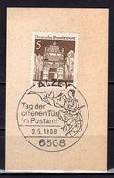Kartenstueck, Stettin, SoSt Alzey 1968 (96720) - Marcophilie - EMA (Empreintes Machines)