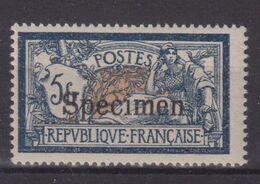 FRANCE : N° 123 Ci3 * . COURS D'INSTRUCTION . TYPE MERSON . 1923 . SPÉCIMEN . TB . - 1900-27 Merson