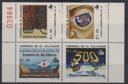 LOT 646 - SALVADOR  N° 1154A/D** - CHRISTOPHE COLOMB -  Cote 4 € - Christophe Colomb