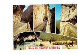 Cpm - Images Du Vercors - Les Grands Goulets - Berger Moutons Chèvre CHIEN Tunnel  - Pêcheur - - Elevage