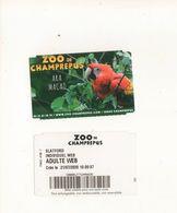Ticket Zoo  De Champrepus - Tickets - Vouchers