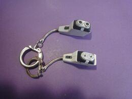 Lot De 2 Portes Clés Rasoirs électriques - Porte-clefs
