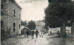 My  Grand'rue Animée Circulé En 1918 - Ferrières