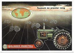CPM - CENTENAIRE Editions - MATERIEL AGRICOLE - 5 - Tracteur BOLINDER-MUNKTELL - Tracteurs