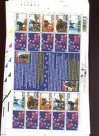 Belgie Blok Feuillet F3064/68 Dogs WOEF MNH Volledig Vel Plaatnummer 1 2002  Onder Postprijs Sous Faciale !! - Panes