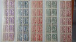 G95 Collection Timbres Et Blocs ** Dont 10 Séries URUGAY PA 89 à 96 ** + 99 Et 100 ** Côte 1550€. A Saisir !!! - Stamps