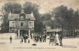 CPA 44 Loire Atlantique Chantenay Les Nantes Place Emile Zola Le Chalet Suisse - état - Otros Municipios