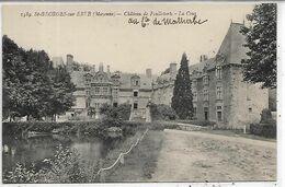 53, Mayenne, SAINT GEORGES SUR BRIVE, Château De Foulletorte - La Cour, Scan Recto-Verso - Autres Communes