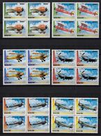 CUBA 2006. AVIONES. BLOQUE DE CUATRO. MNH. EDIFIL 4964/69 - Nuevos