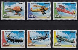 CUBA 2006. AVIONES. MNH. EDIFIL 4964/69 - Unused Stamps