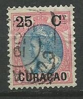 CURACAO  1899 Surcharges - N° 27 Oblitere  Sans Gomme Voir Scan Annonce - Curazao, Antillas Holandesas, Aruba