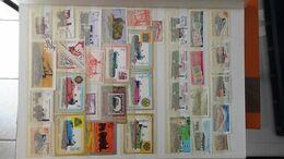 G104 Collection Thématique CHEMINS DE FER Et HELICOPTERES. A Saisir !!! - Stamps