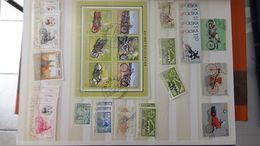 G105 Collection Thématique MOTOS. A Saisir !!! - Stamps