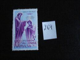 Malte 1960 - Saint Publius - Y.T. 269 - Oblitéré - Used - Gestempeld - Malta