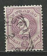 CURACAO  1889 - N° 14 Oblitere  Sans Gomme Voir Scan Annonce - Curazao, Antillas Holandesas, Aruba