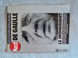 PARIS MATCH General DE GAULLE - Politiek