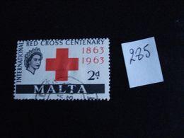 Malte 1963 - Centenaire De La Croix-Rouge - Y.T. 285 - Oblitéré - Used - Gestempeld - Malta