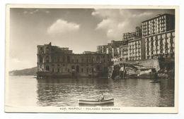 XW 3839 Napoli - Palazzo Donn'Anna - Barche Boats Bateaux/ Non Viaggiata - Napoli (Naples)