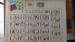 G111 Collection Thématique FLEURS. A Saisir !!! - Stamps