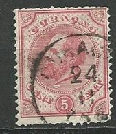 CURACAO  1873 - N° 3 Oblitere  Sans Gomme Voir Scan Annonce - Curazao, Antillas Holandesas, Aruba