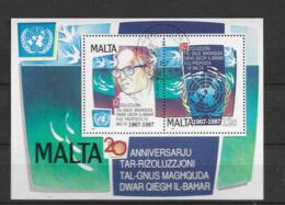 1987 Malta Block - Malta