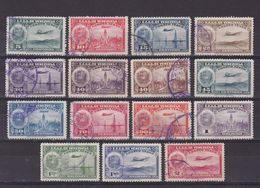 VENEZUELA 1938, Sc #C79-C105, Air Mail, Part Set, Plane, Used - Venezuela
