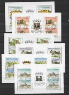 1987 USED 6 Blocks From Booklets - 1910-... République