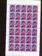 Belgie 1965 1314 Diamant Diamond Antwerp Hand Ring Luppi Full Sheet MNH Plaatnummer 3 - Full Sheets