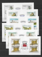 1988 USED 6 Blocks From Booklets - 1910-... République