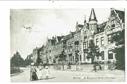 CPA-Carte Postale-Belgique-Courtrai- Boulevard Vanden  Peereboom-1906- VM20208 - Kortrijk