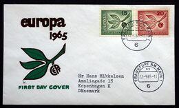 Germany  1965  EUROPA   MiNr.483-84  ( Lot 291 ) - [7] Repubblica Federale