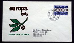 Liechtenstein  1965  EUROPA   MiNr.454  ( Lot 291 ) - FDC