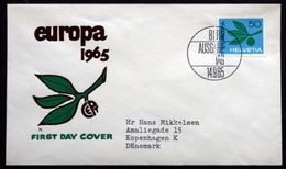 Switzerland 1965  EUROPA   MiNr.825  ( Lot 291 ) - FDC