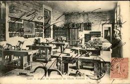FRANCE - Carte Postale - Caen - Atelier De Menuiserie De L'école Normale - L 67290 - Caen