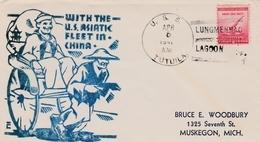 Lungmenhao Lagoon China 1941 - US Navy Tutuila - With The US Asiatic Fleet In China - Navy - China