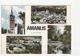 CPSM - AMANLIS - MULTI VUES - 35 - Frankrijk