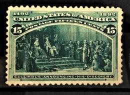 USA 1893 - MLH - Sc# 238 - 15c - Columbus - Unused Stamps