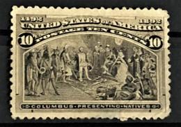 USA 1893 - MLH - Sc# 237 - 10c - Columbus - Unused Stamps