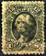 USA 1861-62 - Canceled - Sc# 69 - 12c - Oblitérés