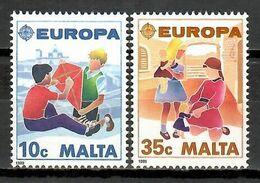 Malta 1989 / Europa CEPT Children's Games & Toys MNH Juegos Infantiles Y Juguetes / Jz21  38-17 - 1989