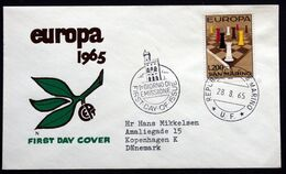 San Marino 1965  EUROPA   MiNr.842  FDC  ( Lot 291 ) - FDC